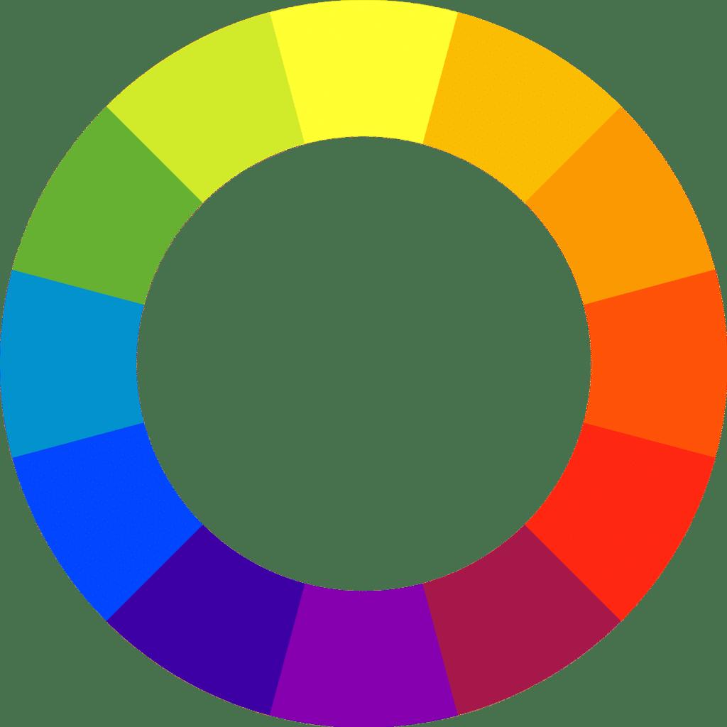 roue chromatique choisir ses couleurs