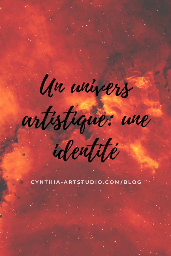 pin it article l'univers artistique d'un artiste Cynthia Artstudio