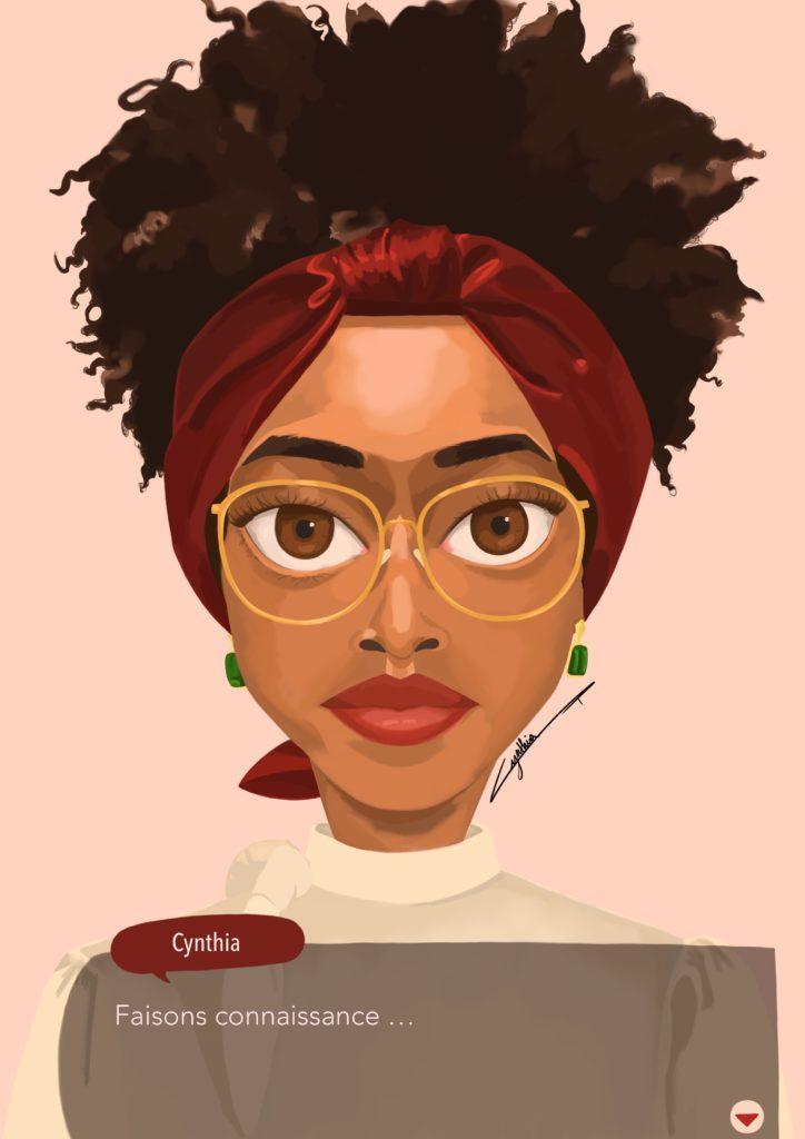 À propos portrait de Cynthia Artstudio