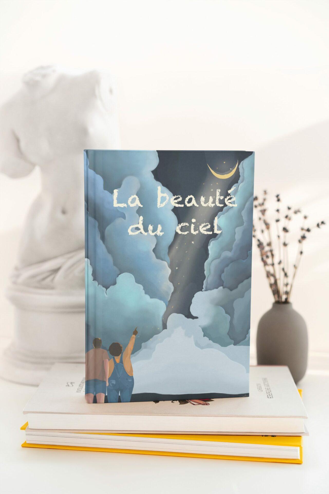 Mock up livre illustration de couverture par Cynthia Artstudio